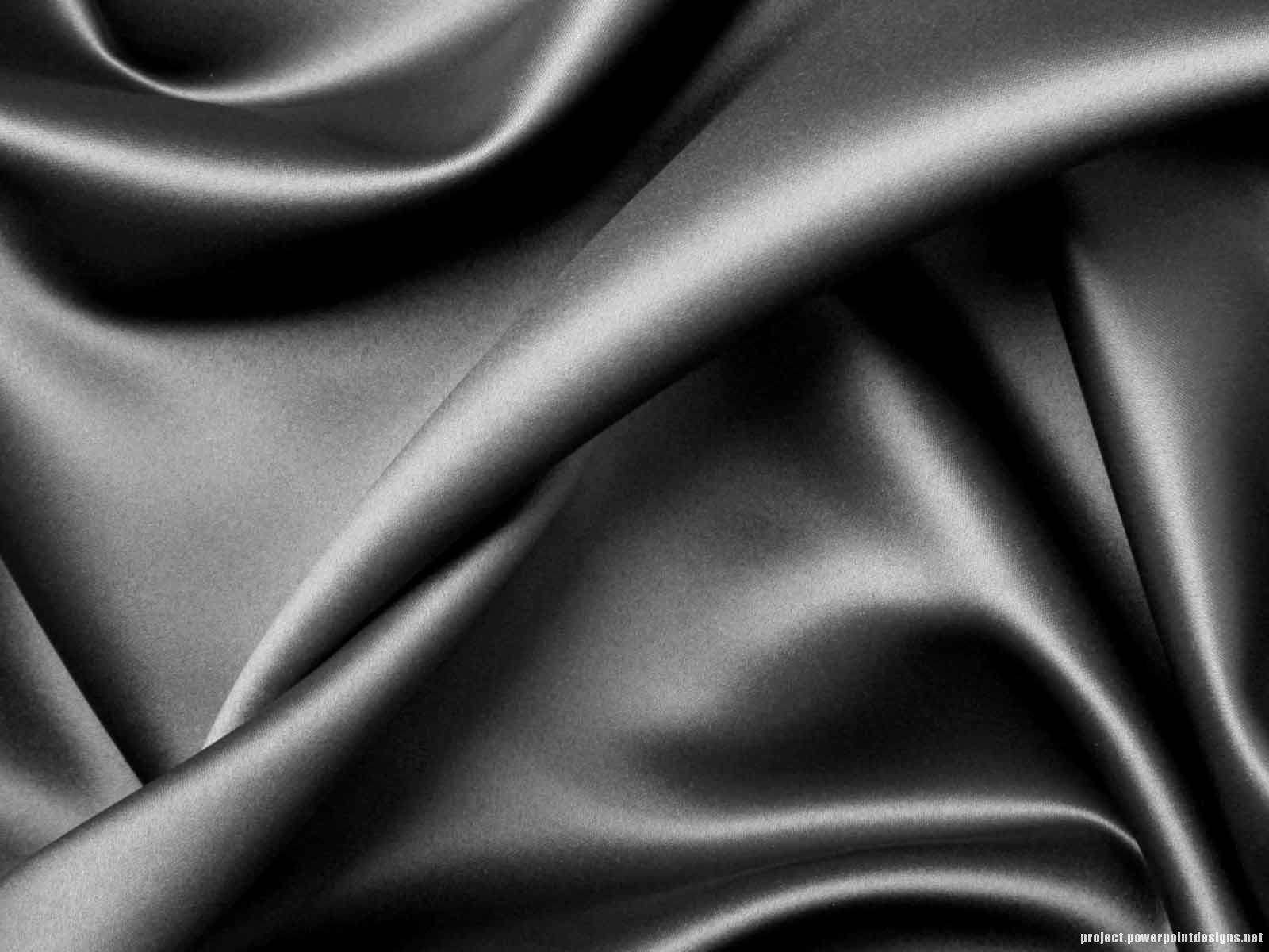 Black Silk Fabric Texture Powerpoint Background – Project