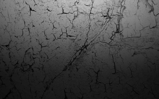Cracked Dark Wall Background