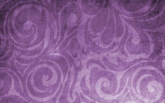 Batik Purple Background For Powerpoint