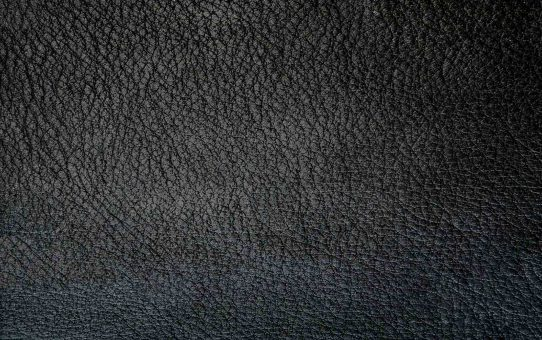 Black Leather Texture Background For Powerpoint