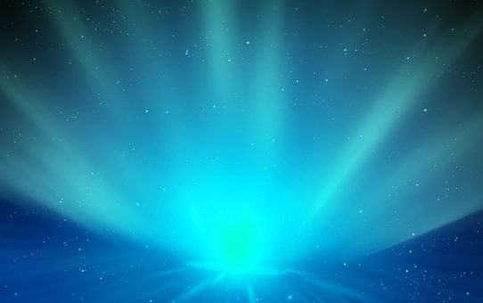 Blue Light Abstract Background Powerpoint