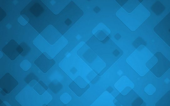 Blue Square Powerpoint Background