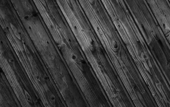 Black Wood Shiny Background